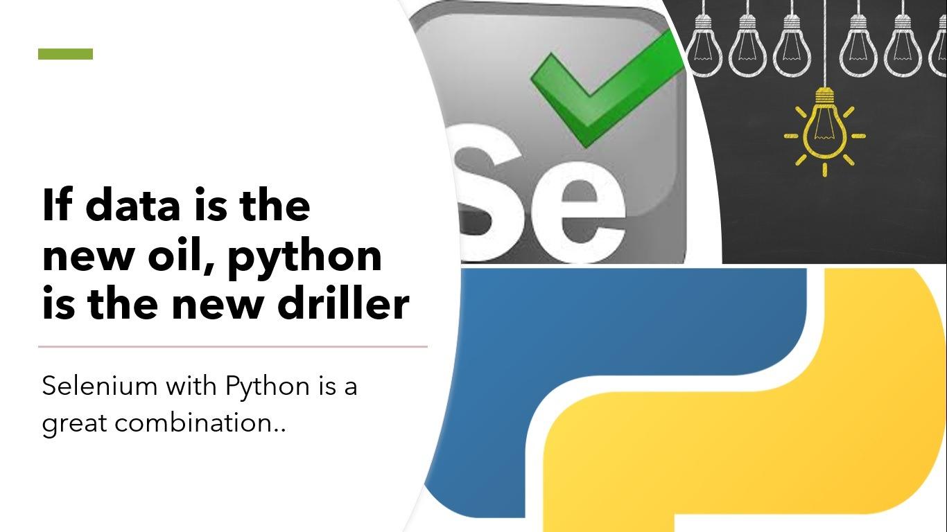 python data driller