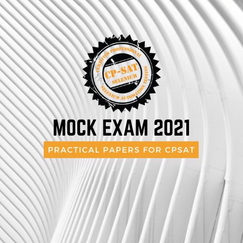 Mock Exam 2021 image